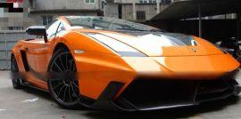 2004-2008 Lamborghini Gallardo Pre LP VF SLG Style Carbon Fiber Hood Bonnet