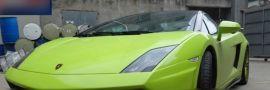 2009-2014 Lamborghini Gallardo LP540 550 560 570 SLG Style Carbon Front Bumper