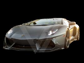 Lamborghini Avebtador LP700-4 Carbon Fiber Front Lip