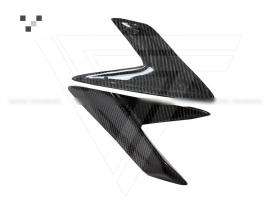 Lamborghini Aventador LP700-4 Carbon Fiber Front Bumper Canards