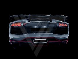 Lamborghini Aventador LP700-4 LP720 LP750 Carbon Fiber Rear Spoiler Rear Wings