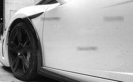 Lamborghini Gallardo Carbon Fiber Fender Flares