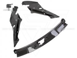 Lamborghini Gallardo LP550 LP560 LP570 Carbon Fiber Front Hood Bonnet Hatch Trim Panels