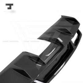 Lamborghini Gallardo LP550 LP560 LP570 2008-2014 Carbon Fiber Rear Diffuser Rear Lip