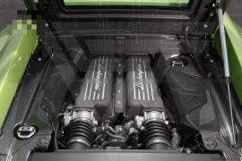 Lamborghini Gallardo LP550 LP560 LP570 Carbon Fiber Engine Bay Kit