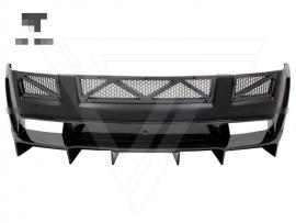 Lamborghini Gallardo Half Carbon Fiber Rear Bumper