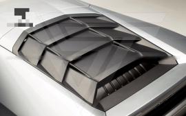 Lamborghini Huracan LP610-4 Dry Carbon Fiber Rear Engine Hood Cover