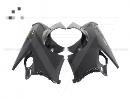 Lamborghini Huracan LP610-4 Half Carbon Fiber Front Bumper Wide Body Kits