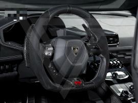 Lamborghini Huracan LP610-4 LP580-2 Dry Carbon Fiber Shift Paddles