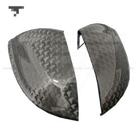 Lamborghini Urus Carbon Fiber Side Mirrors Covers