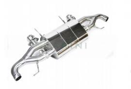 LARINI ASTON MARTIN V8 VANTAGE 'ST2' EXHAUST REAR ASSEMBLY + ACTIVALVE