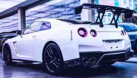 Nissan GTR R35 Carbon Fiber Trunk Spoiler Wing Body Kit