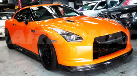 Nissan GTR R35 ZELE front lip side skirts rear lip